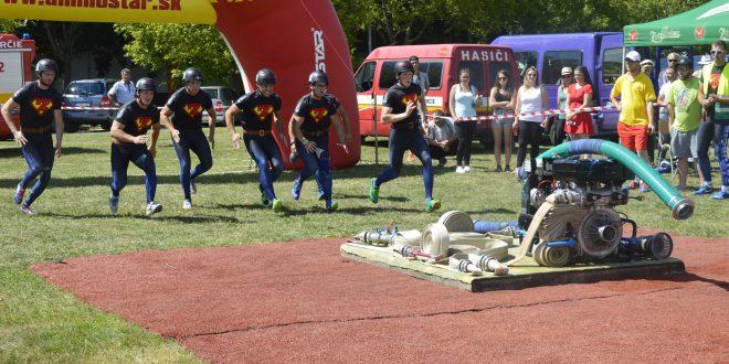 , V Záturčí súťažili hasiči v rámci THL. Kto bol najrýchlejší?