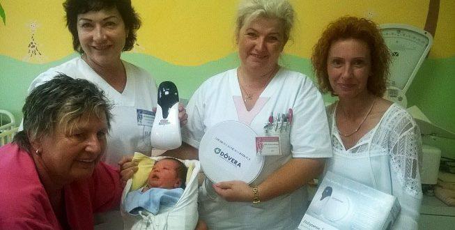 , Novorodenecké oddelenie má prírastok. Dych bábätiek strážia nové monitory