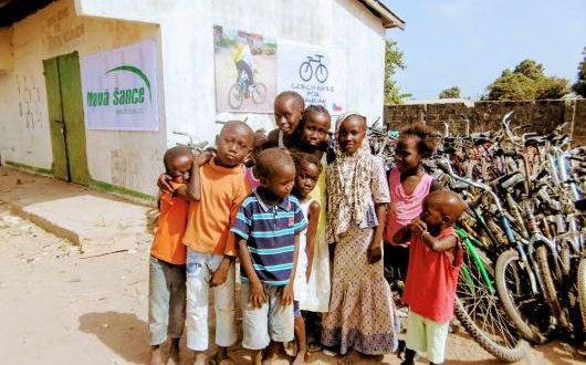 , Darujte svoj nepotrebný bicykel a pomôžete druhým