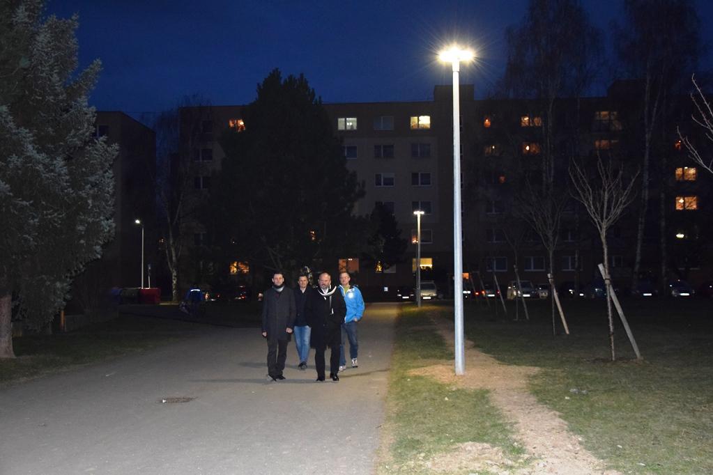 , Prvá etapa rekonštrukcie verejného osvetlenia bola slávnostne spustená