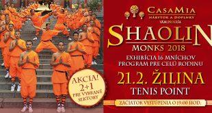 , Mnísi Shaolin prídu do Žiliny. Pozrite si šokujúce kúsky majstrov Kung Fu