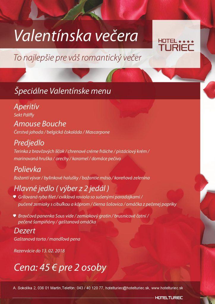 , Vyhraj romantickú večeru a zaži so svojou láskou nezabudnuteľného Valentína!