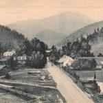 Takýto pohľad bol na kúpele Lúčky v roku 1922. Trošku sa zmenili, čo poviete? Obec Lúčky leží v Chočských vrchoch neďaleko Ružomberka. Kúpele sú známe od roku 1761, kedy Adam Turjansky postavil prvú kúpeľnú budovu./Zdroj foto:LA SNK
