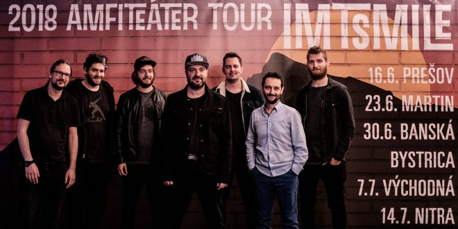 , IMT SMILE nacvičujú na svoju AMFITEÁTER TOUR: 23. júna odohrajú koncert v Martine!