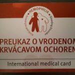 , MUDr. Šimurda: Na Slovensku máme takmer 600 hemofilikov. Ich detstvo je plné zákazov.