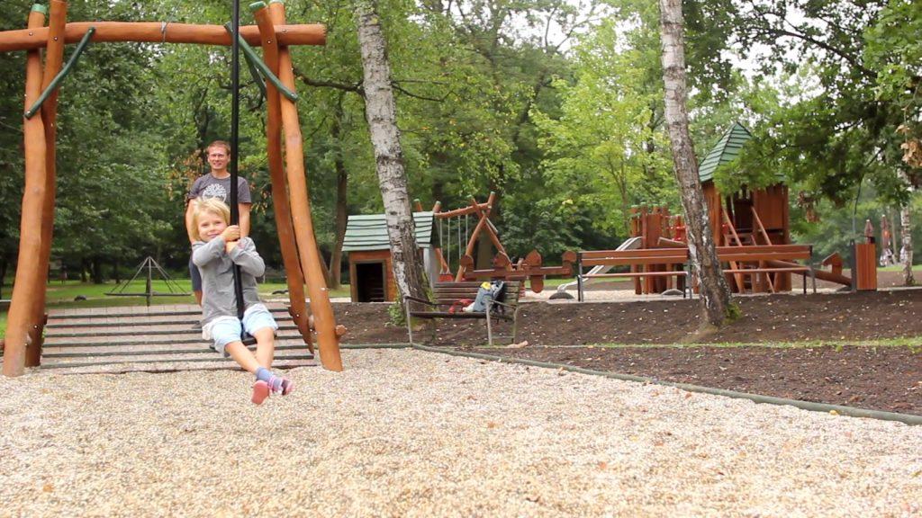 , Do lesoparku v Žiline sa po rokoch vrátila lanovka, pribudli aj trampolíny a nové detské ihrisko