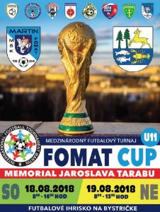 , ROZHOVOR: Medzinárodny turnaj Fomat cup 2018 privíta viac ako 100 malých fubalistov