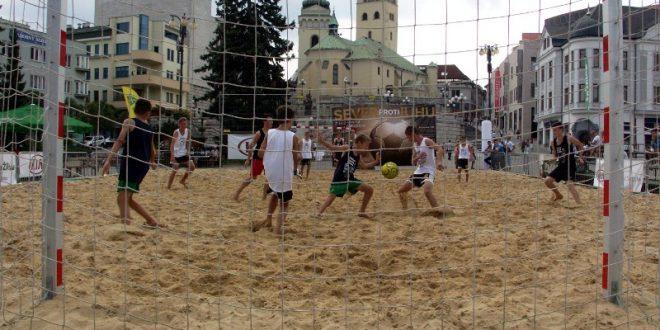 , Žilinčania sa budú baviť futbalom aj na piesku!