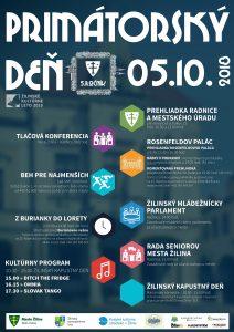 , Primátorský deň v Žiline prinesie bohatý program