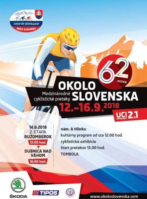, Blížia sa medzinárodné cyklistické preteky Okolo Slovenska. O čom bude 62. ročník?