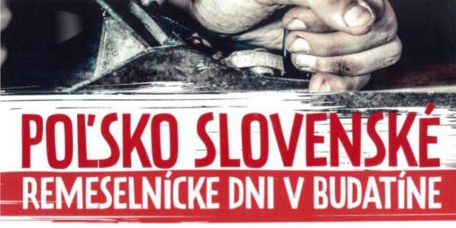 , V Budatíne pripravili Poľsko – slovenské remeselnícke dni