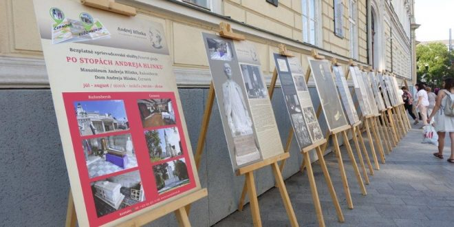 , Martin: Panelová výstava o Hlinkovi zavíta dodruhej matičnej budovy