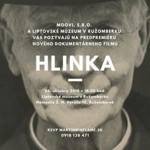 , Život Andreja Hlinku mapuje nový dokumentárny film ružomberských filmárov