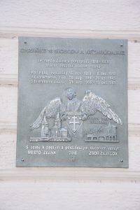 , V Žiline odhalili pamätnú tabuľu, ktorá pripomína obsadenie mesta