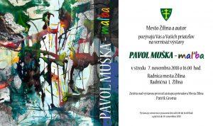 , V priestoroch žilinskej radnice bude výstava Pavla Mušku-Maľba