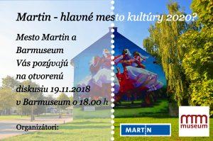 , Bude Martin hlavným mestom slovenskej kultúry?