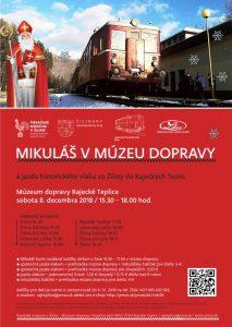 , Rajecké Teplice: Mikuláš navštívi aj múzeum dopravy