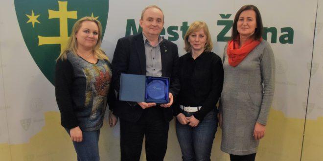 , Žilina získala cenu za najčastejšie využívanie elektronického obstarávania