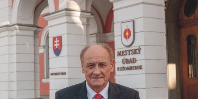 , Aj staronový primátor Ružomberka sa ujal svojho postu