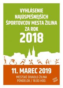 , Žilina spozná športovca roka 2018