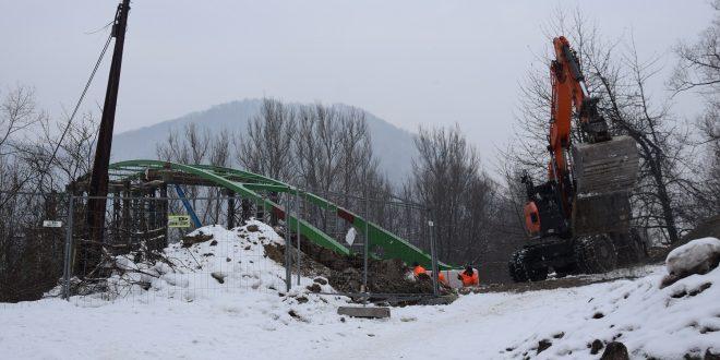 , Žilina: Stavebné práce na lávke v Brodne budú pokračovať