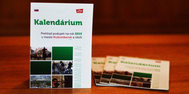 , Ružomberské Kalendárium 2019 ponúka takmer 600 podujatí