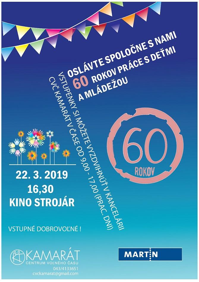 , Oslávte 60. výročie práce s deťmi a mládežou. Alena Leštinská z CVČ Kamarát pozýva…