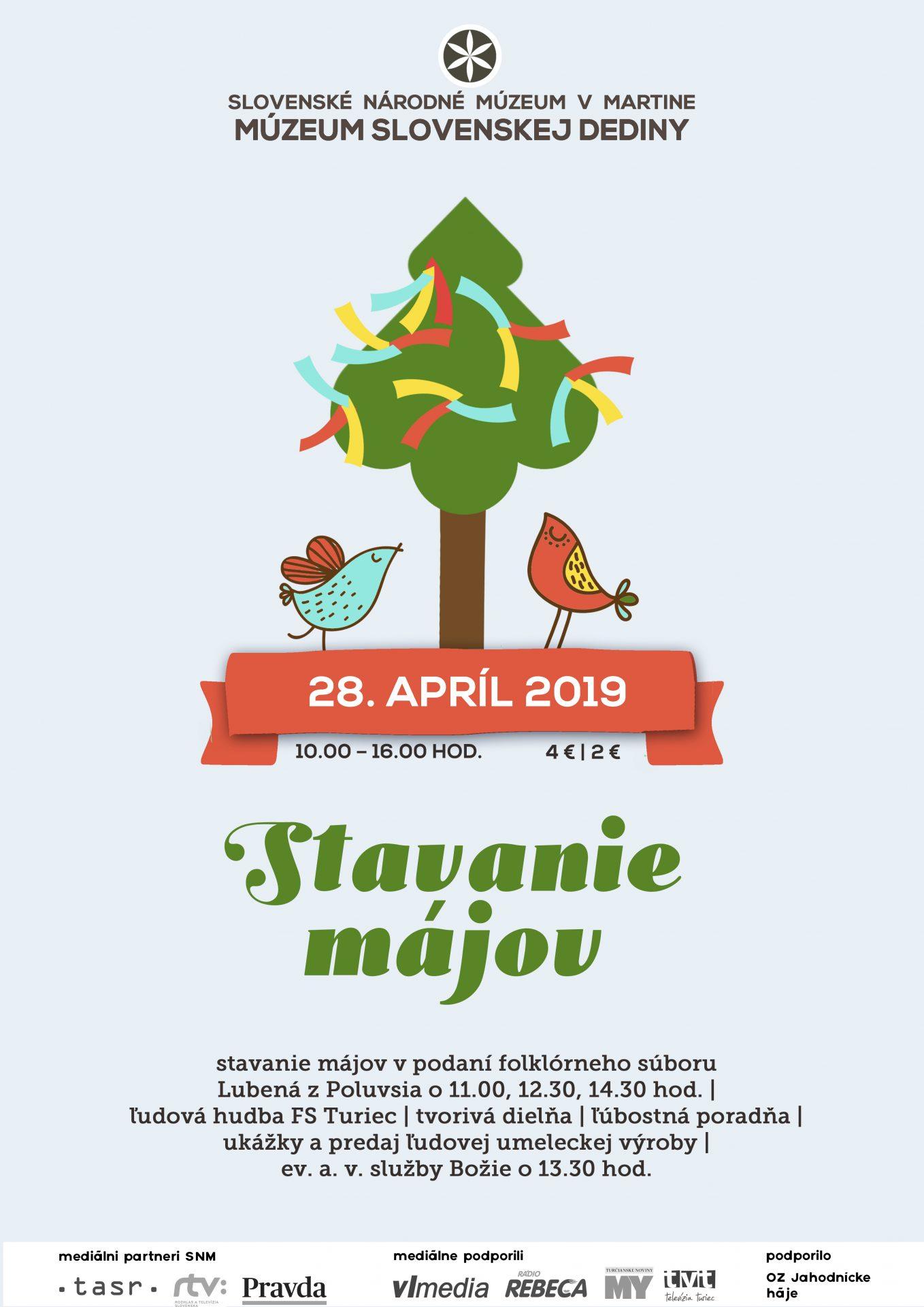 , V Múzeu Slovenskej dediny budú stavať máje