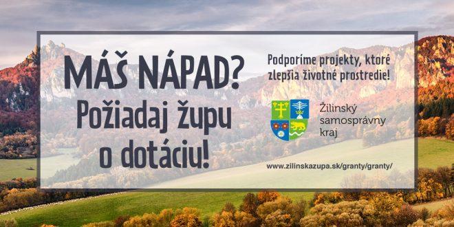 , ŽSK: Výzva participatívneho rozpočtu je zameraná na životné prostredie