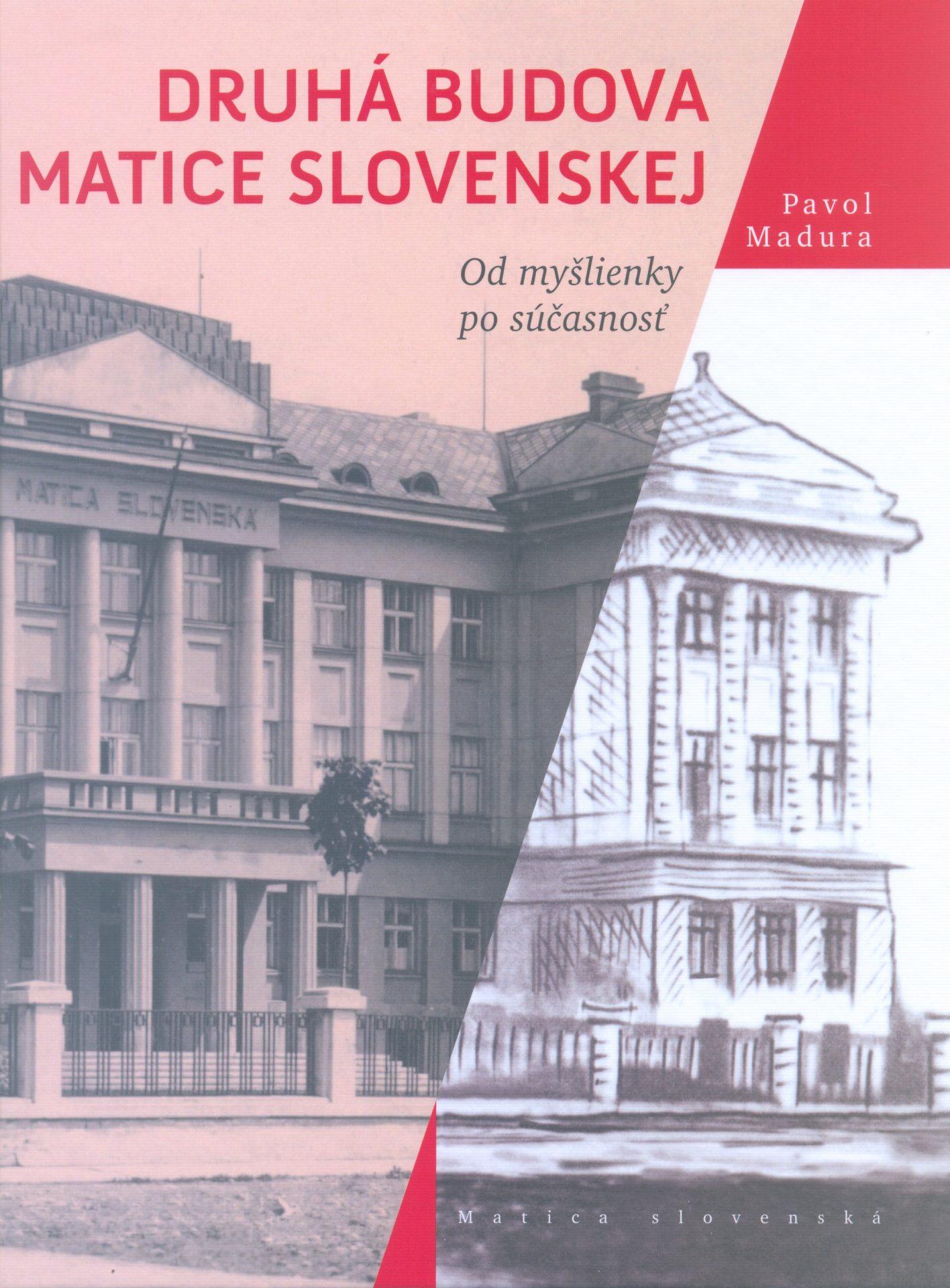 , Odruhej matičnej budove vMartine vyšla jedinečná kniha