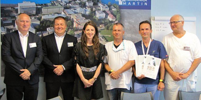 , Univerzitná nemocnica Martin získala prestížne medzinárodné ocenenie