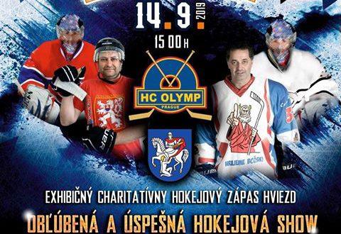 , Známe tváre a kopa zábavy. Príďte sa pozrieť na charitatívnu show Pomáhajme hokejom!