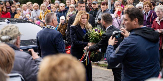 , Prezidentka Zuzana Čaputová navštívila Martin. Aký bol jej program? /FOTOGALÉRIA