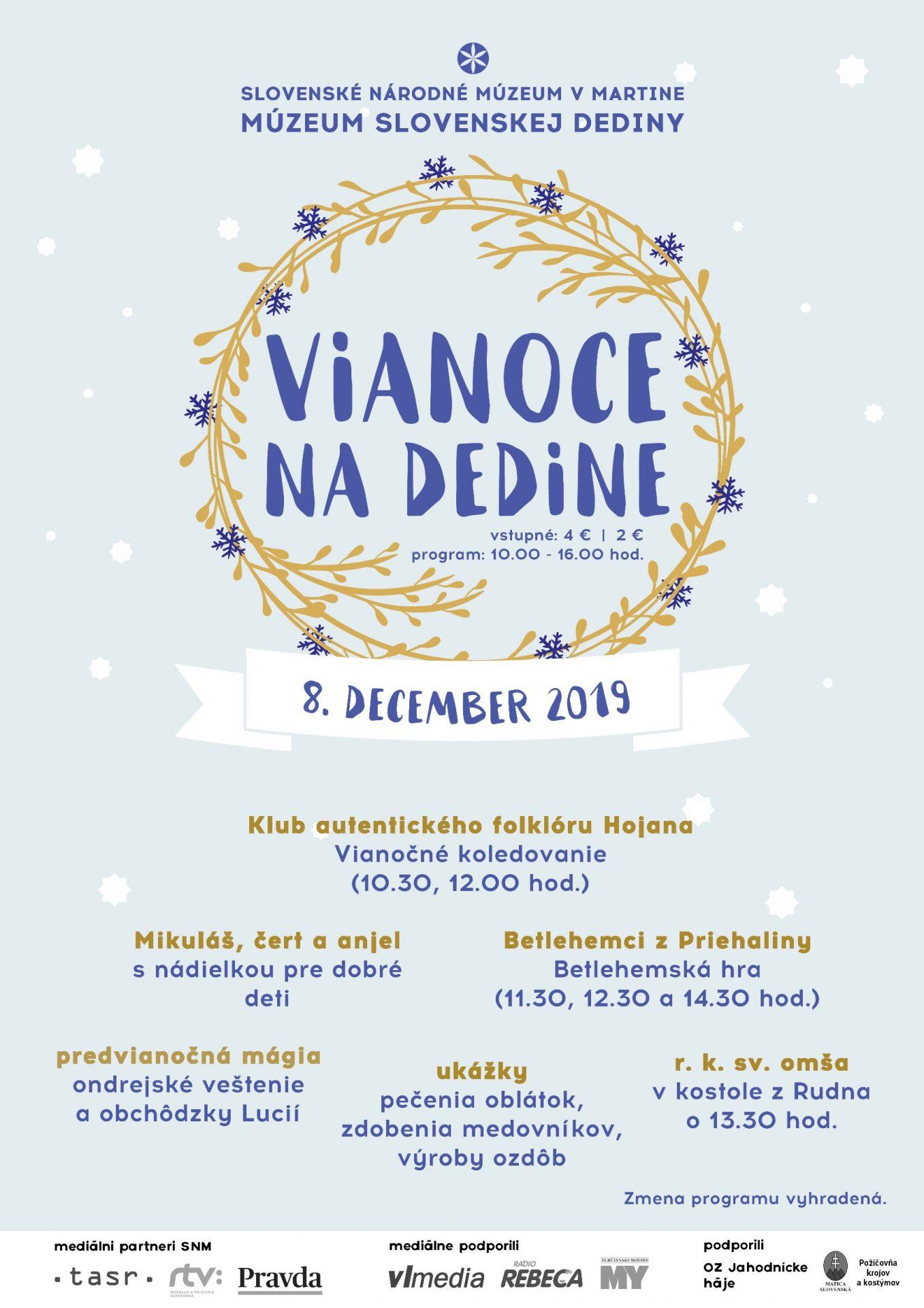 , V Múzeu slovenskej dediny v Martine zažijete Vianoce na dedine