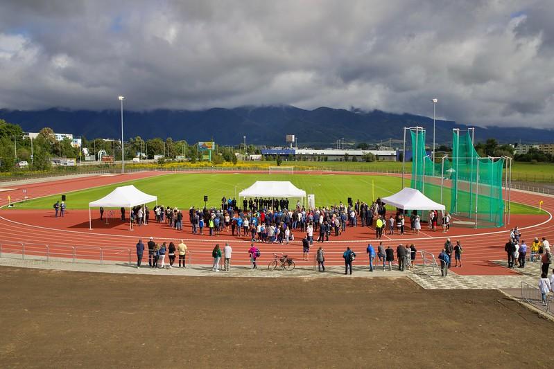 , Nový atletický štadión pri Spojenej škole v Martine začína slúžiť športovcom