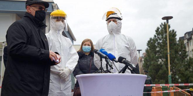 , Poľskí zdravotníci pomáhali s celoplošným testovaním v Žilinskom kraji