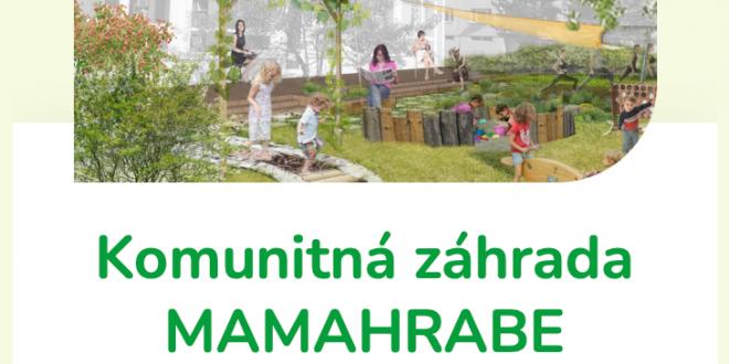 , MAMAHRABE: Hlasujte za projekt komunitnej záhrady v Priekope