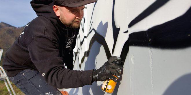 , Pri ceste 1. triedy medzi Žilinou aMartinom vznikol nový mural