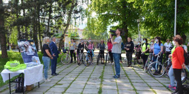 , Do práce na bicykli odštartovalo mesto Martin s rekordom