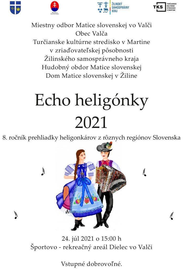 , Pozývame vás na podujatie Echo heligónky 2021