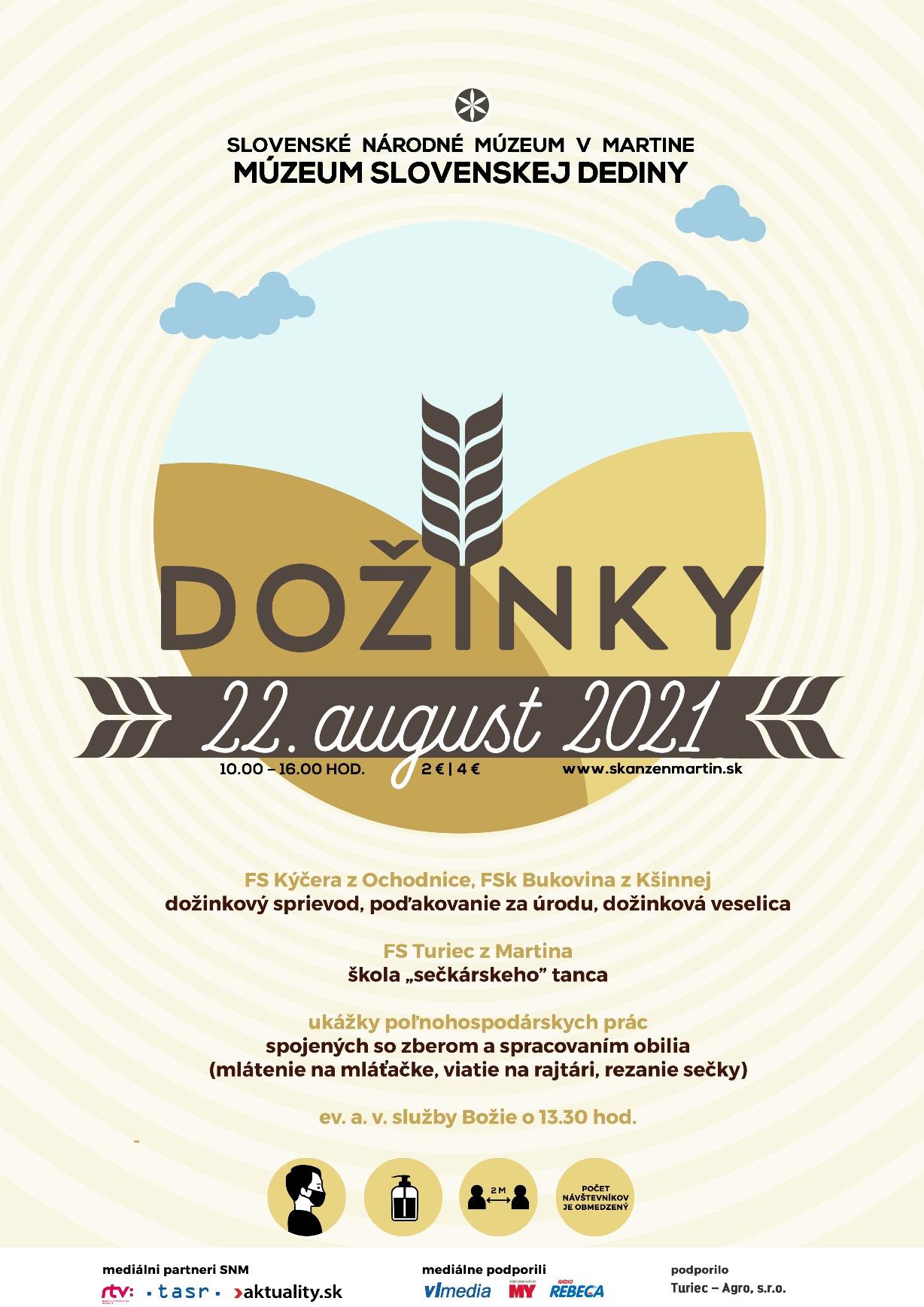 , V Múzeu slovenskej dediny uvidíte ukážky poľnohospodárskych prác a dožinkové slávnosti