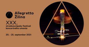 , Zažite týždeň nabitý excelentnými výkonmi… Pozývame vás na festival Allegretto Žilina