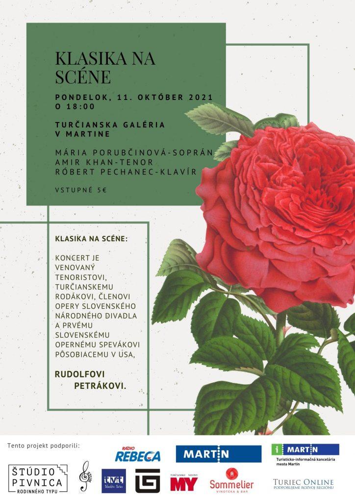 , Podujatie Klasika na scéne si uctí tenoristu Rudolfa Petráka